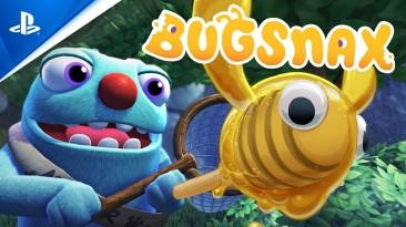 Kinda bug and kinda snack - релизный трейлер Bugsnax