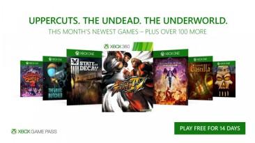 В октябре подписчики Xbox Game Pass получат Street Fighter IV, State of Decay и другие игры