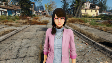 "Fallout 4 ""Yakuza Kiwami 2 Yuki Follower"""