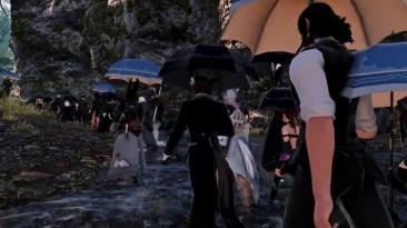 В Final Fantasy XIV десятки игроков почтили память умершего от COVID-19 соратника