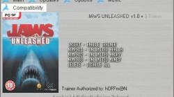 Jaws Unleashed: Трейнер (+3) [1.0] {h4x0r}