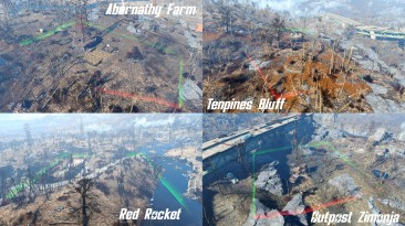 """Fallout 4 """"All Settlements Extended 2.1"""""""