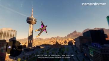 Полёты на вингсьюте в новом геймплейном ролике Saints Row