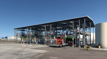 American Truck Simulator Вайоминг: промышленность