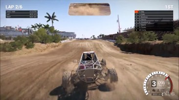 DiRT 4 - Baja Мексика - Land Rush Геймплей (PC HD)
