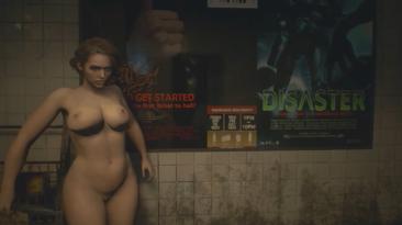 """Resident Evil 3 """"Пышная Джилл с физикой груди"""""""