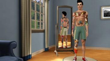 "The Sims 3 ""Тату цветное на все тело"""