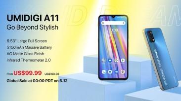 Смартфон UMIDIGI A11 стоимостью 100 долларов вышел на международном рынке