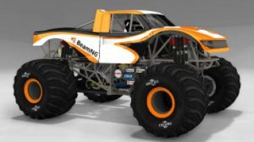 """BeamNG.drive """"Revamped CRD Monster Truck версия 1.12 (v0.10.x)"""""""