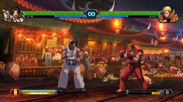 "The King of Fighters 13 ""Улучшение качества изображения"""