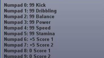 Pro Evolution Soccer (PES) 2009: Трейнер (+10) [1.2]