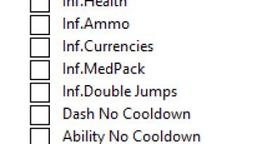 Collapsed: Таблица для Cheat Engine [UPD: 03.08.2019] {ArmY of 0n3}