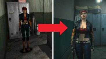 """Resident Evil 2 """"Ремейк классической огненной куртки для Клэр"""""""