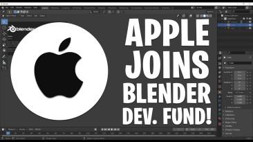 Apple присоединяется к Фонду развития Blender