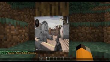 В Minecraft теперь можно смотреть летсплеи по Minecraft