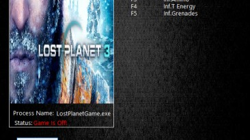 Lost Planet 3: Трейнер/Trainer (+4) [1.0.10246] {MrAntiFun}