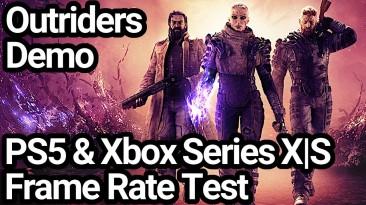 Технический анализ демоверсии Outriders демонстрирует более высокое разрешение на Xbox Series X