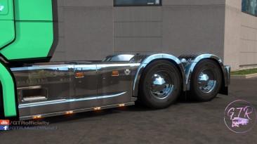 """Euro Truck Simulator 2 """"Хромированные детали тюнинга для Scania S & R Next Gen"""" (v1.34)"""