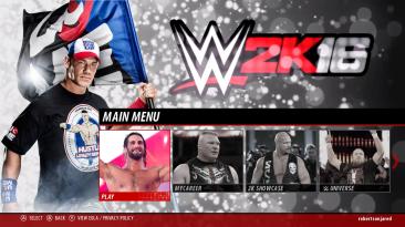 """WWE 2K16 """"John Cena (рендер в главном меню)"""""""