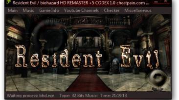 Resident Evil / Biohazard HD REMASTER: Трейнер/Trainer (+5) [1.0] {h4x0r}