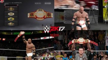 """WWE 2K17 """"TNT Championship WWE 2K19 Порт МОД"""""""