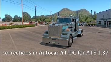 "American Truck Simulator ""Исправления в Autocar AT-DC для ATS 1.37.х"""