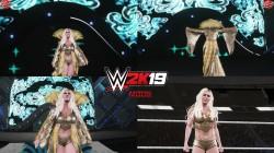 "WWE 2K19 ""Charlotte Flair WrestleMania 34 WWE 2K20 Порт Наряд Мод"""