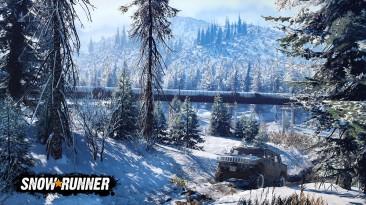 Для SnowRunner вышел патч - теперь двигатель отключится, если игрок отойдет
