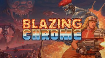 В Steam состоялся выход игры Blazing Chrome