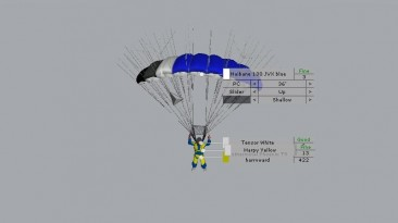 """B.A.S.E. Jumping """"JVX canopy pack"""""""