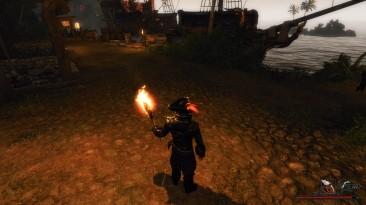 """Risen 2: Dark Waters """"Динамические тени от света факелов"""""""