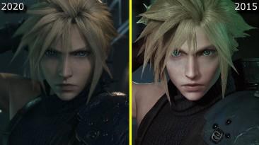 Игрок сравнил Final Fantasy 7 2015 и 2020 года