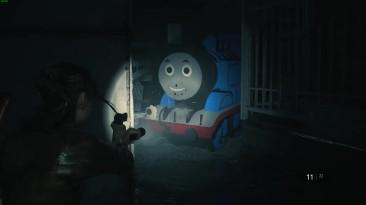 Resident Evil 2 - Паровозик Томас найдет тебя везде