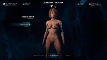 """Mass Effect: Andromeda """"Голая Райдер для v1.08, v1.09, v1.10)"""""""