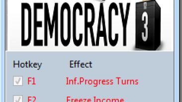 Democracy 3: Трейнер/Trainer (+3) [1.14] {MrAntiFun}