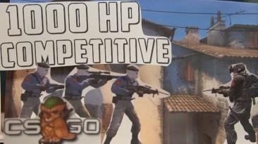 Ютубер показал режим игры в CS:GO, где у игроков по 1000 очков здоровья