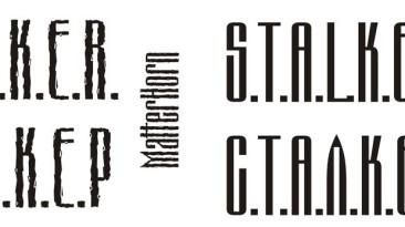S.T.A.L.K.E.R. - шрифты