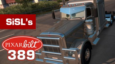"""American Truck Simulator """"Pixarbilt 389. Аксессуары Кабины"""""""