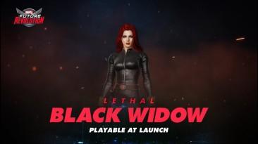 Черная Вдова в новом ролике Marvel Future Revolution