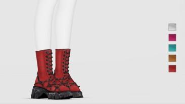 """Sims 4 """"Ботинки Diana - Детализированные (2020)"""""""