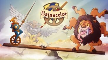 Видео игрового процесса консольной версии Balancelot