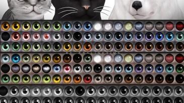"""Sims 4 """"Сборка реалистичных глаз для Домашних Животных (2020)"""""""