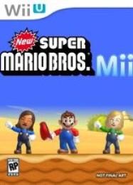 Обложка игры New Super Mario Bros. Mii