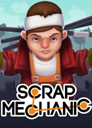 Обложка игры Scrap Mechanic