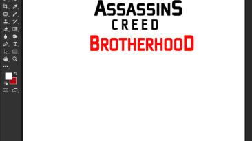 "Assassin's Creed: Brotherhood ""Шрифт для фотошопа и прочих редакторов"""