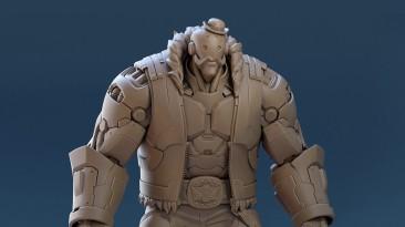 Художники синематиков Blizzard выложили модельки, которые использовались в короткометражках Overwatch