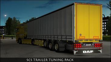"Euro Truck Simulator 2 ""SCS Трейлер Тюнинг Пак v1.8.3.1 (1.39.x)"""