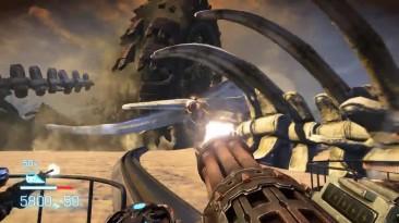 Колесо смерти и огромный пещерный монстр - Bulletstorm: Full Clip Edition