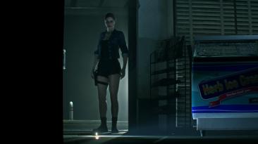 "Resident Evil 2 ""Костюм Сони Блейд из Mortal Kombat"""
