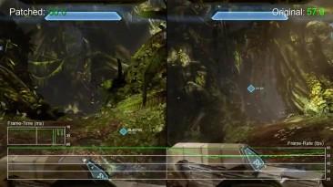 "Halo 4 ""Сравнение частоты кадров Xbox One от Digital Foundry"""